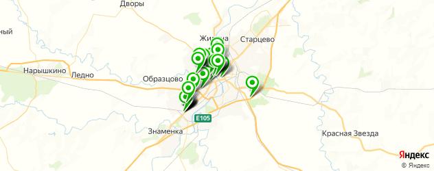 рестораны для дня рождения на карте Орла