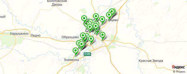 Авто на карте Орла
