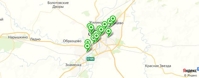 тюнинги-магазины на карте Орла