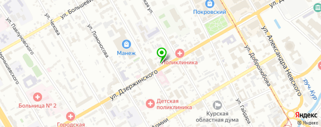 ремонт кроссовок на карте Курска