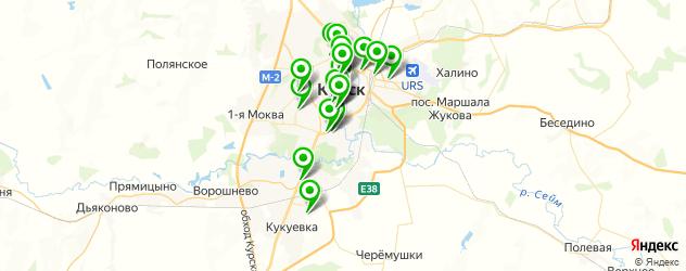 академии на карте Курска