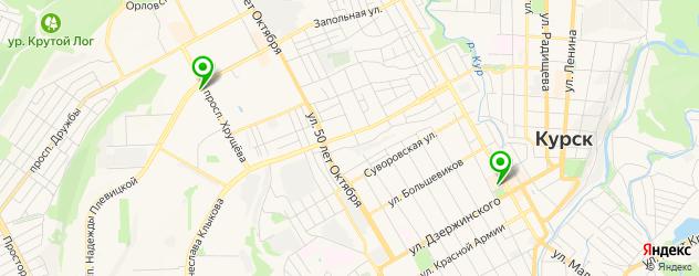 сервисные центры HP на карте Курска