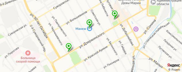 Ремонт телевизоров Самсунг на карте Курска