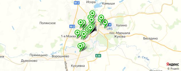 Бытовые услуги на карте Курска