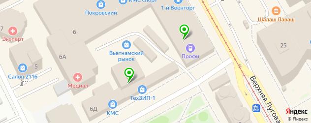 ремонт сканеров на карте Центрального округа
