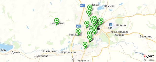 рестораны для свадьбы на карте Курска