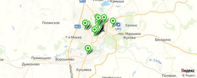 Финансы на карте Курска