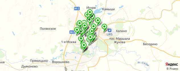 Авто на карте Курска