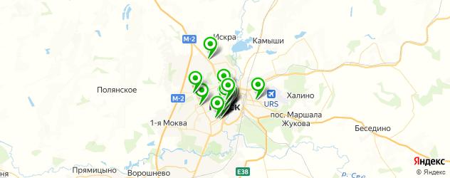 бесплатный Wi-Fi на карте Курска