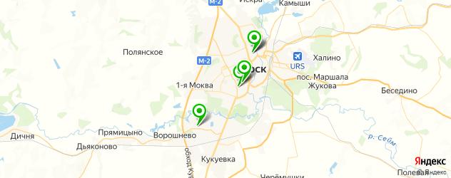 детские больницы на карте Курска