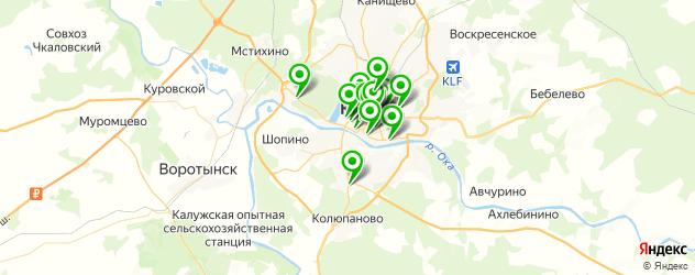 доставка на карте Калуги