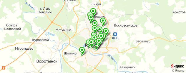 аптеки на карте Калуги