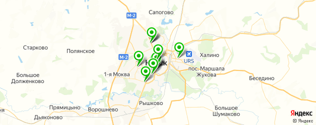 СПА салон на карте Курска