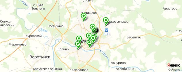автосалоны на карте Калуги