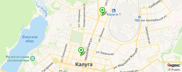модельные агентства на карте Калуги