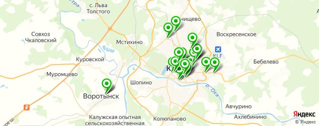 дома быта на карте Калуги