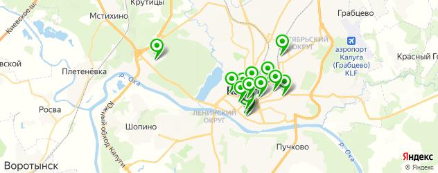 ортопедические магазины на карте Калуги