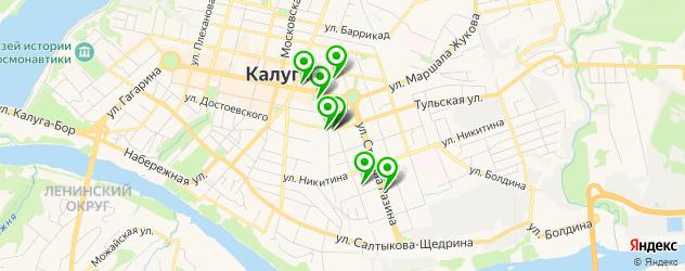 сервисные центры на карте Николо-Козинской улицы
