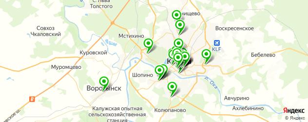 кондитерские на карте Калуги