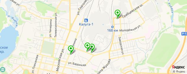 детские развлекательные центры на карте Октябрьского округа