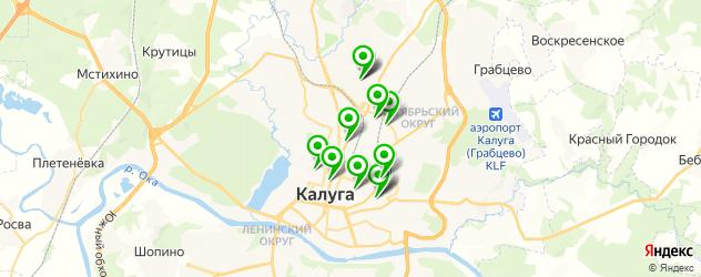 оклейка авто пленкой на карте Калуги
