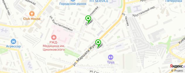 ломбарды на карте Территории стекольного завода