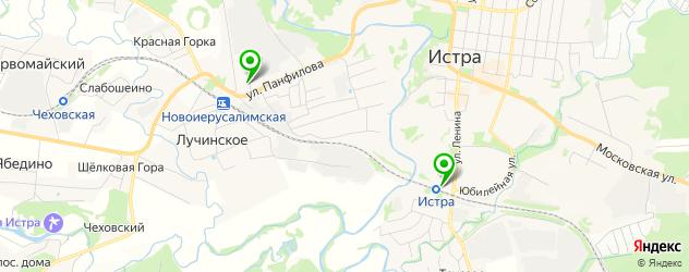 бары с танцполом на карте Истры