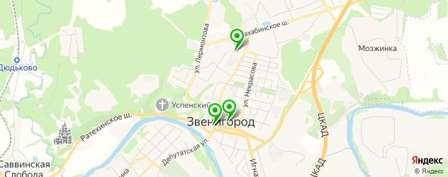 макияж глаз на карте Звенигорода