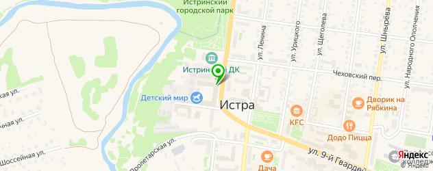 ортопедические магазины на карте Истры