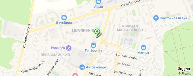 горячий маникюр на карте Звенигорода