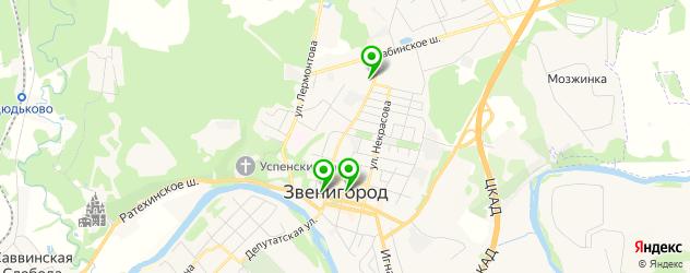 мужской педикюр на карте Звенигорода