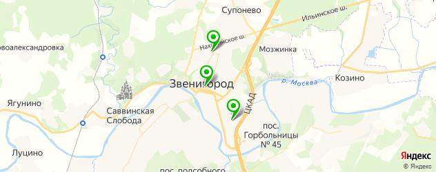 аппаратный маникюр на карте Звенигорода