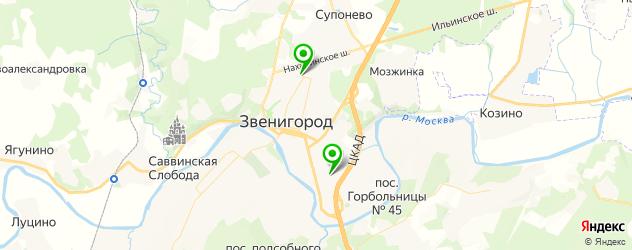 наращивание ногтей на формах на карте Звенигорода