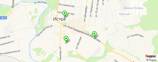 рестораны европейской кухни на карте Истры