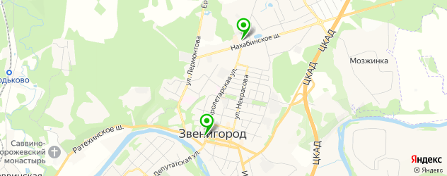 магазины автоаксессуаров на карте Звенигорода