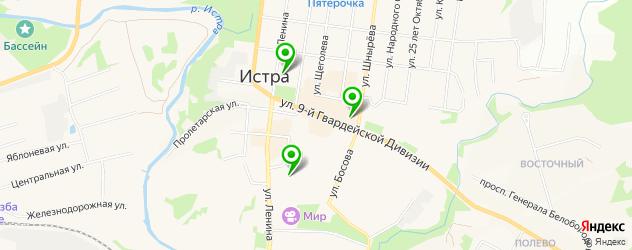 постные меню в ресторанах на карте Истры