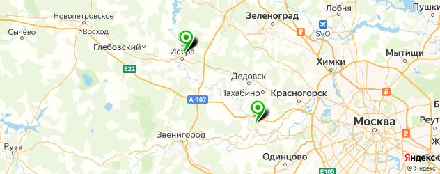 больницы на карте Истры