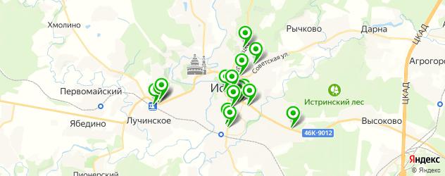 аптеки на карте Истры
