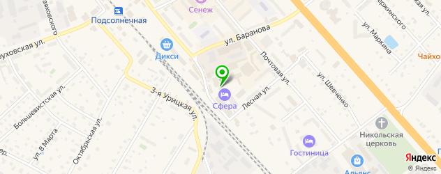 тату салон на карте Солнечногорска