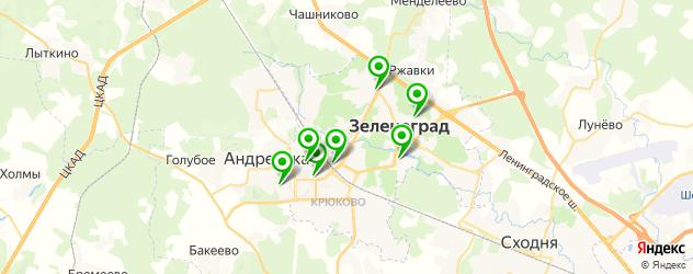 фотостудии на карте Зеленограда