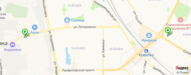 пирсинги салон на карте Зеленограда