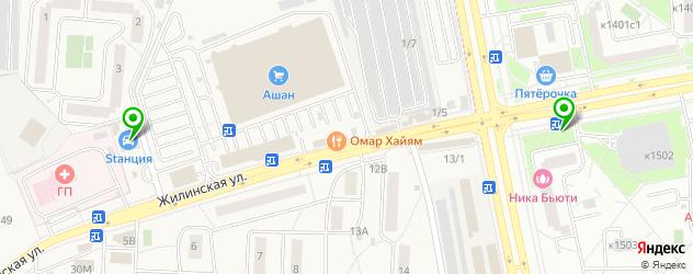 ремонт литых дисков на карте Зеленограда