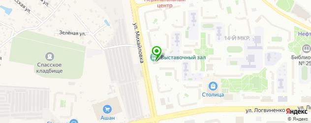 картинные галереи на карте Зеленограда