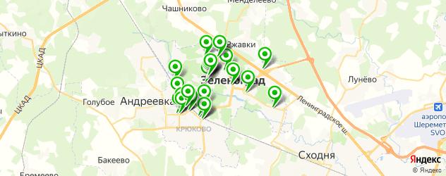 мебельные мастерские на карте Зеленограда