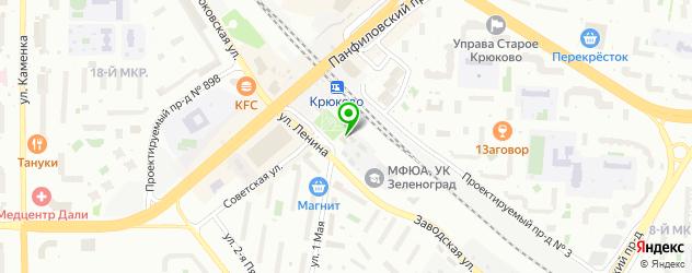 скупка техники на карте Зеленограда