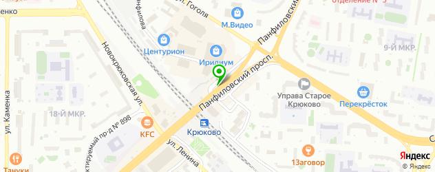 где купить парик на карте Зеленограда