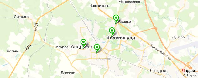 флебология на карте Зеленограда