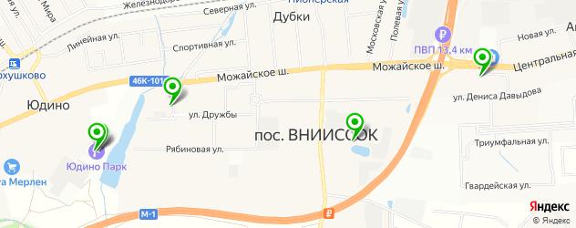рестораны на карте Дубков