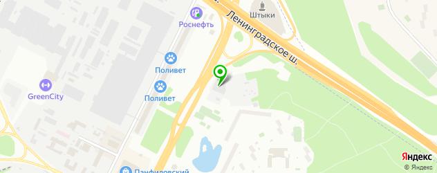 мотосалоны на карте Зеленограда