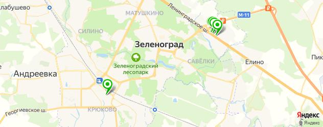 автосалоны на карте Зеленограда